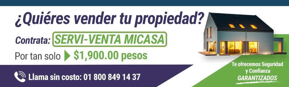 Vender propiedad: anuncio