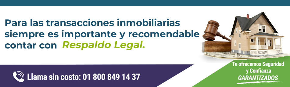 Respaldo Legal: anuncio