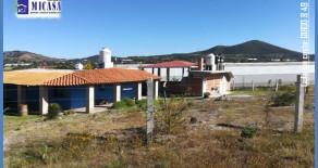 Por no poder atender se vende Magnifico rancho a unos metros de autopista Mex-Ver